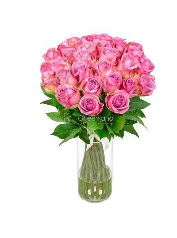 №14 Монобукет из 51 розовой розы S
