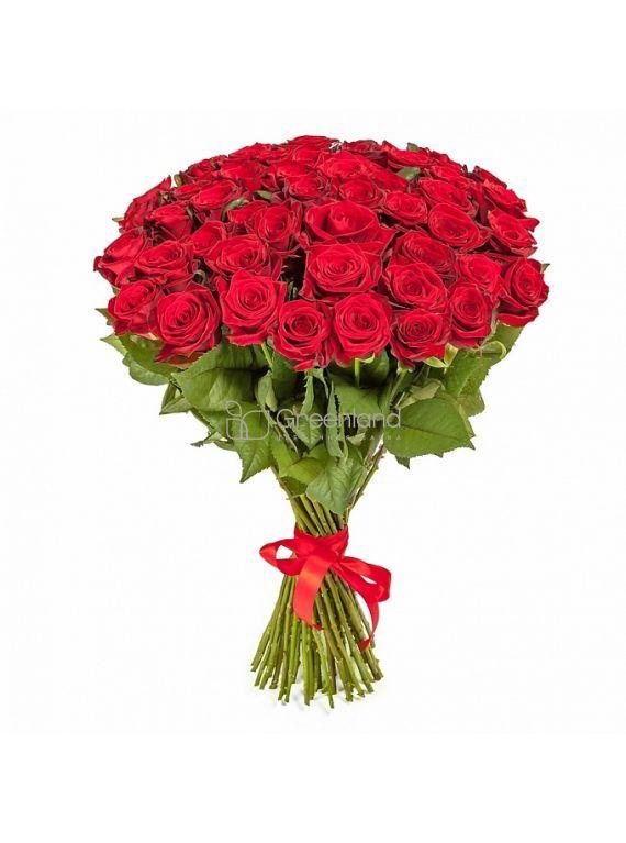 №53-1 Букет из 51 красной роз L