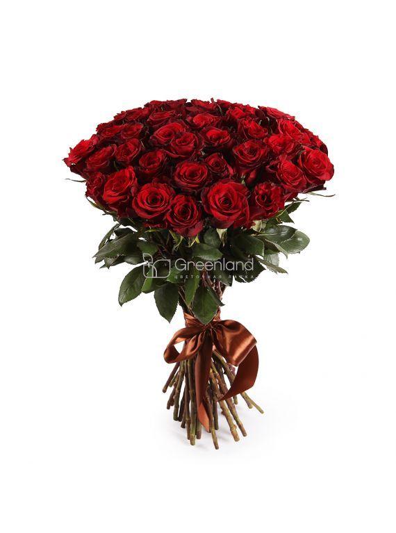 №59 Букет из 35 красных роз Премиум (Эквадор)