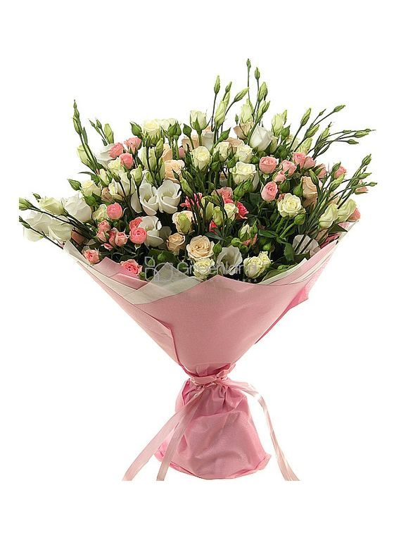 №92 Roses and Lisianthus mix bouquet