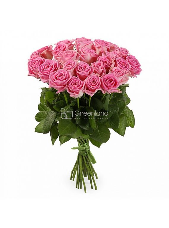 №229 35 pink roses S flower bouquet