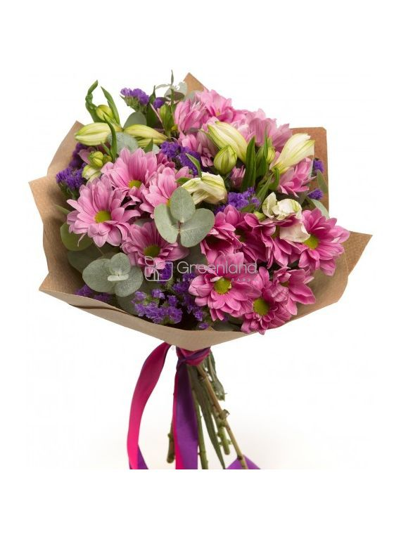 №331  Bouquet of chrysanthemum